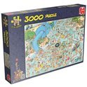 Jan van Haasteren Tropisch Zwemparadijs - Puzzel - 3000 stukjes