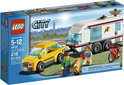 LEGO City Auto met Caravan - 4435