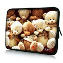 Sleevy 15,6 inch laptophoes beertjes
