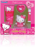 Hello Kitty - 4 delig- Geschenkset