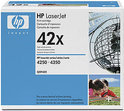 HP 42X - Inktcartridge Zwart - 2 Pack