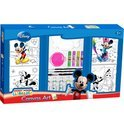 Mickey Mouse canvas verf set