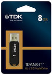 TDK Trans-It USB Stick 2.0 Flash Drive 8GB