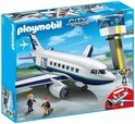 Playmobil Vracht- en Passagiersvliegtuig met Verkeerstoren - 5261