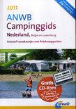 ANWB Campinggids Nederland, België en Luxemburg 2011  + cd-rom