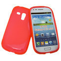 Cover hoesje Samsung Galaxy S3 Mini 'S-design' - roze
