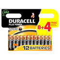 Duracell Plus Power           AAA  8er+4