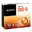 DVD-R 16X SLIM CASE 10 PACK