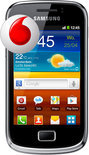 Samsung Galaxy Mini 2 - Zwart - Vodafone prepaid telefoon