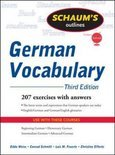 Schaum's Outline of German Vocabulary