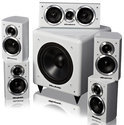 Wharfedale Moviestar Hoogglans - 5.1 speakerset - Wit
