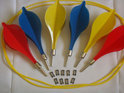 Traditional garden games Lawn darts: darts voor in de tuin