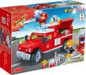 BanBao Brandweer Brandweer Jeep - 8316