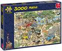 Jan van Haasteren Safari - Puzzel - 3000 stukjes