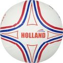 Straatvoetbal Rubber - Holland - Wit (maat - 5)