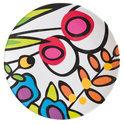 Zak!Designs Wild Flora Dinerbord - 28 cm - Assorti - Set van 6 stuks