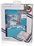 Playfect 14-in-1 Accessoire Pakket Turquoise 3DS + DSi + Ds Lite