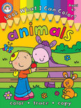 Look What I Can Color!, Ages 4+: Animals