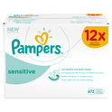 Pampers Sensitive - Doekjes Navulpak 12x56 st.