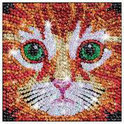 Sequin Art Zoom Kitten