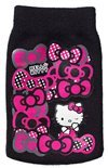 Hello Kitty Cleaning Sock Bows Zwart