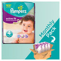 Pampers Active Fit - Maat 4 Maandbox 168 st.
