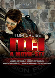 Mission: Impossible 1 t/m 4 (Dvd)