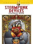 Creative Haven Steampunk Devices Coloring Book