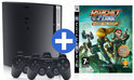 Sony PlayStation 3 Slimline 320 GB + Ratchet + Clank Quest for Booty + Extra Controller
