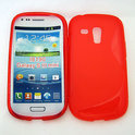 Cover hoesje Samsung Galaxy S3 Mini 'S-design' - rood