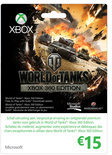 Microsoft Xbox Live 15 Euro Kaart - World Of Tanks Xbox 360
