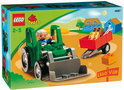 LEGO Ville Tractor met Aanhangwagen - 4687