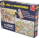 Jan van Haasteren 2In1 Food - Puzzel - 1000 stukjes
