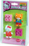 Hello Kitty Miniset - 2 Figuurtjes