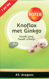 Roter Knoflox met Ginkgo Dragees 48 st