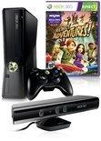 Microsoft Xbox 360 Slim 4GB + Kinect Sensor + 1 Controller + Kinect Adventures