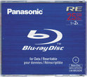 Panasonic BD-RE 25GB 2x - 1 stuk in jewelcase