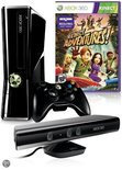 Xbox 360 Slim 250GB + Kinect Sensor + Draadloze Controller + Kinect Adventures
