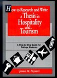 How To Research And Write A Thesis In Hospitality And Tourism