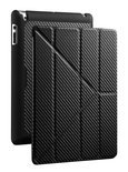 YEN Folio cover voor iPad 2nd, 3rd and 4th gen. Zwart