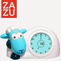 ZAZU Slaaptrainer, kinderwekker & nachtlamp Schaap Sam BLAUW