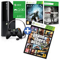 Microsoft Xbox 360 Super Slim 250GB + 1 Controller + Grand Theft Auto V + Halo 4 + Tomb Raider + 1 Maand Xbox Live Gold