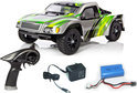 Yellow-RC Stadium Racer 1/12 2,4GHZ RTR (7.4V accu en lader) Groen YEL11021