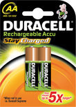 Duracell Rechargeable Accu Stay Charged - 2xAA