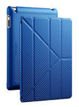 YEN Folio cover voor iPad 2nd, 3rd and 4th gen. Blauw