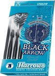 Harrows Black Arrow Steeltip 19 Gr - Dartpijlen