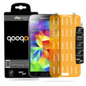 QooQoon silqShield™ Invisible Screen Protector voor Samsung Galaxy S5 - Front met SmartApply