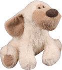 K-nuffel Witte oren Hond - Knuffel