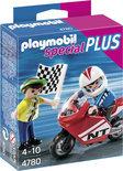 Playmobil Motorracer met vlaggenzwaaier - 4780