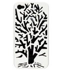 Lianzoo VisualCase Embossed voor Apple iPhone 4/4S Tree White